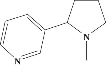 structural elucidation of nicotine pdf
