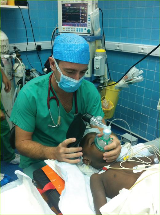 présence anesthésie bloc opératoire