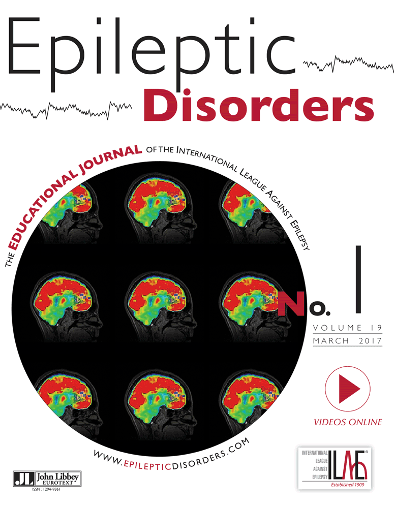 Epileptic Disorders January 2016