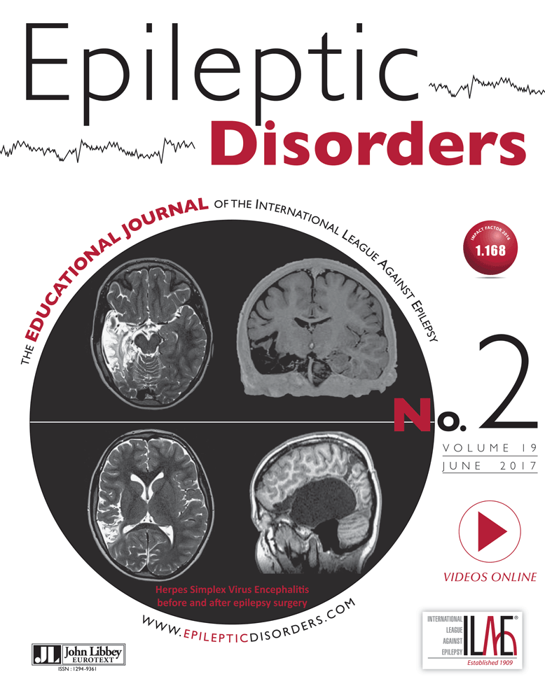 Epileptic Disorders June 2017