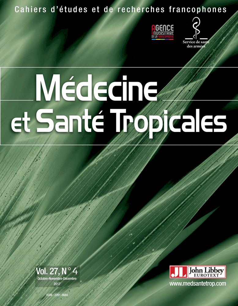 Médecine et santé tropicales Vol.27, N°4 (01/10/2017)