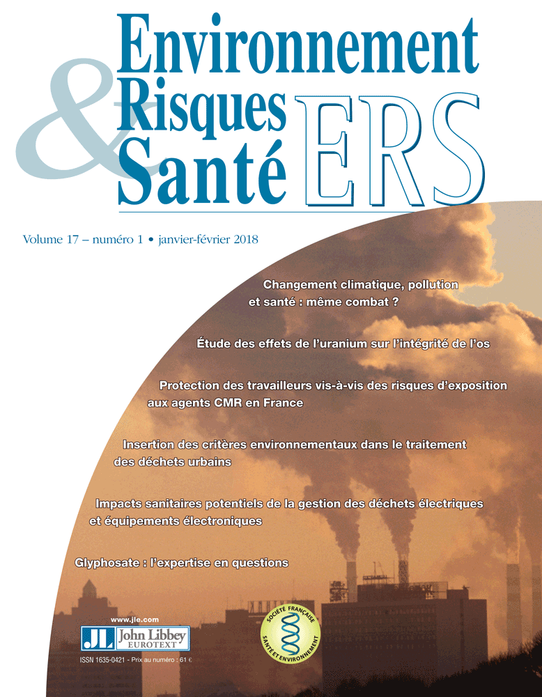 Environnement, Risques & Santé