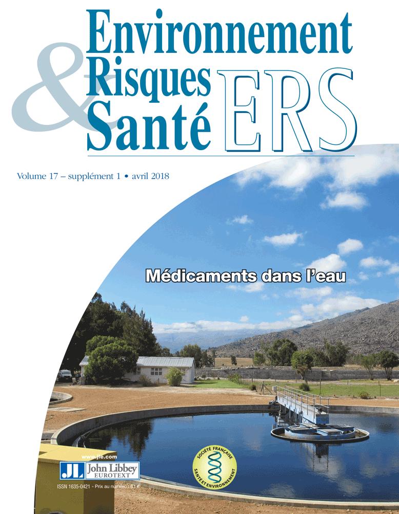 Environnement Risques & Santé Vol.17, suppl.1 (01/04/2018) ; Médicaments dans l'eau
