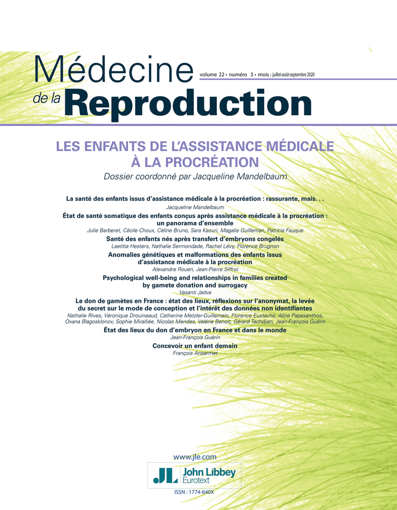Médecine de la Reproduction
