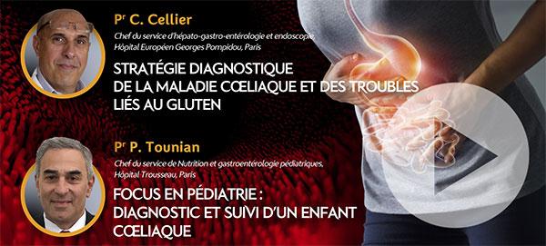 Webinar Maladie coeliaque et troubles liés au gluten